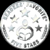 "Five Star Book Review Seal from ""Readers' Favorite"""